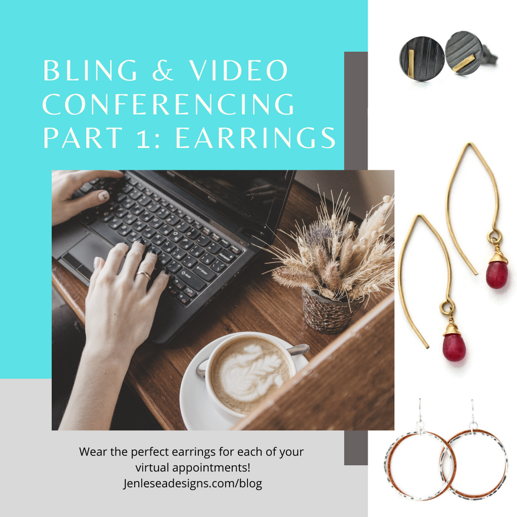 Virtual Meeting Fashion Part 1: Earrings