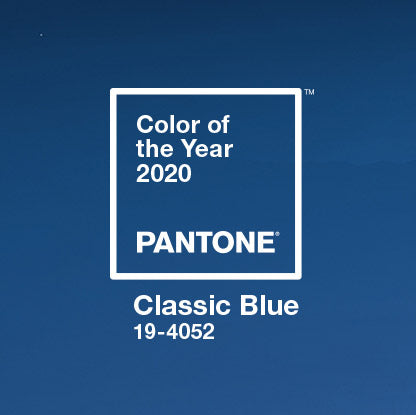 The Color of 2020: Classic Blue