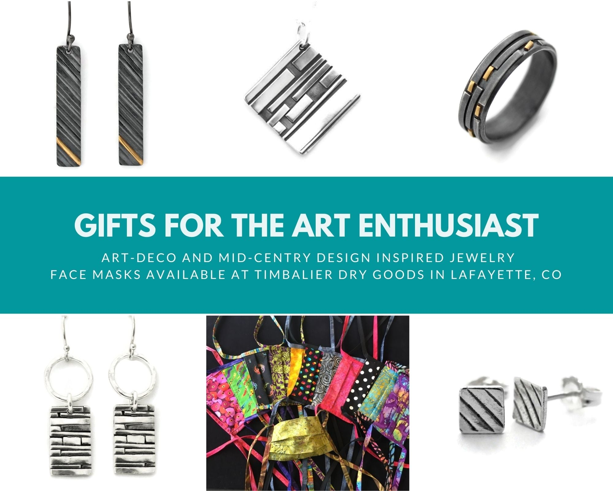 Gifts for the art enthusiast by Jen Lesea Designs