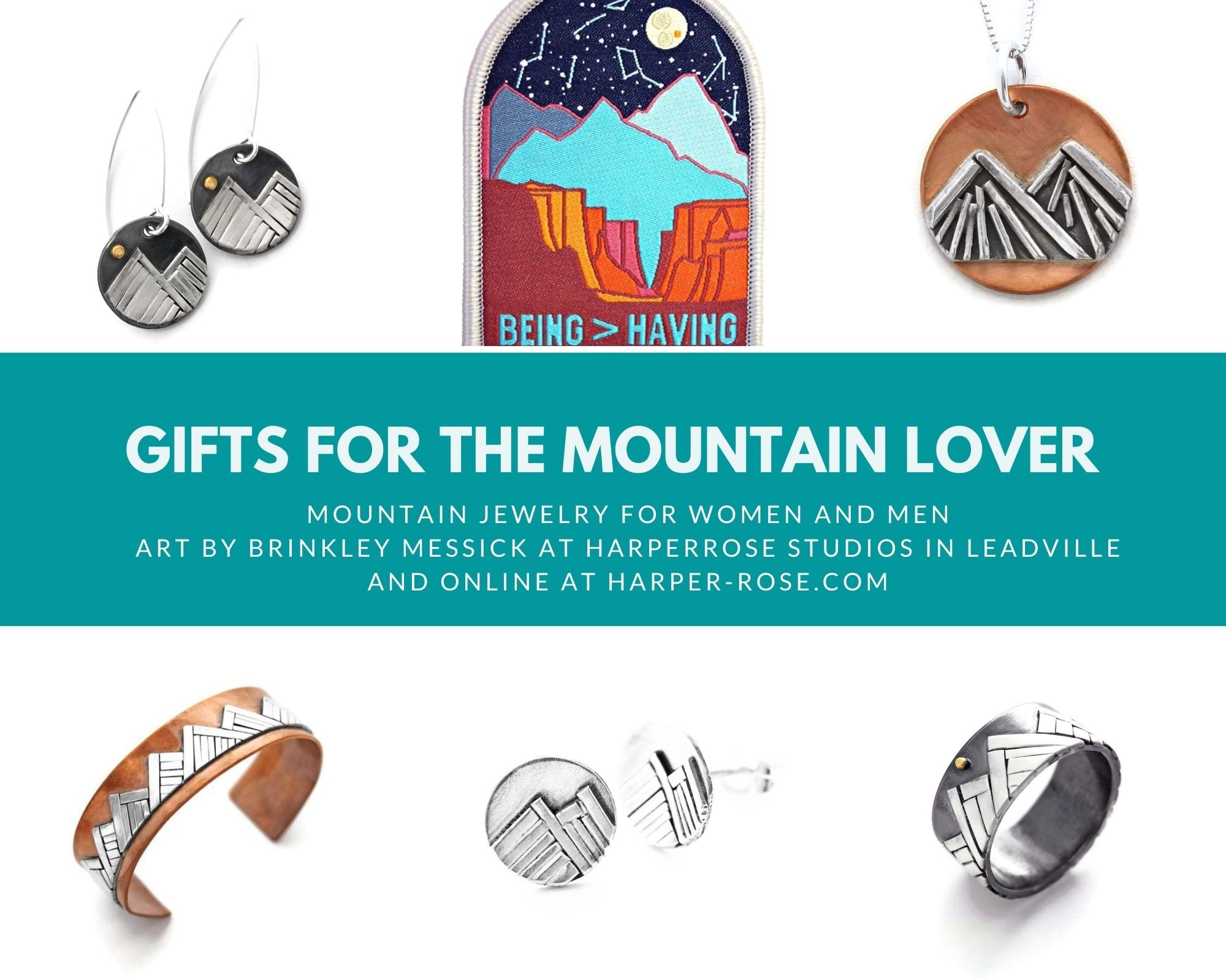 Gifts for Mountain Lover by Jen Lesea Designs