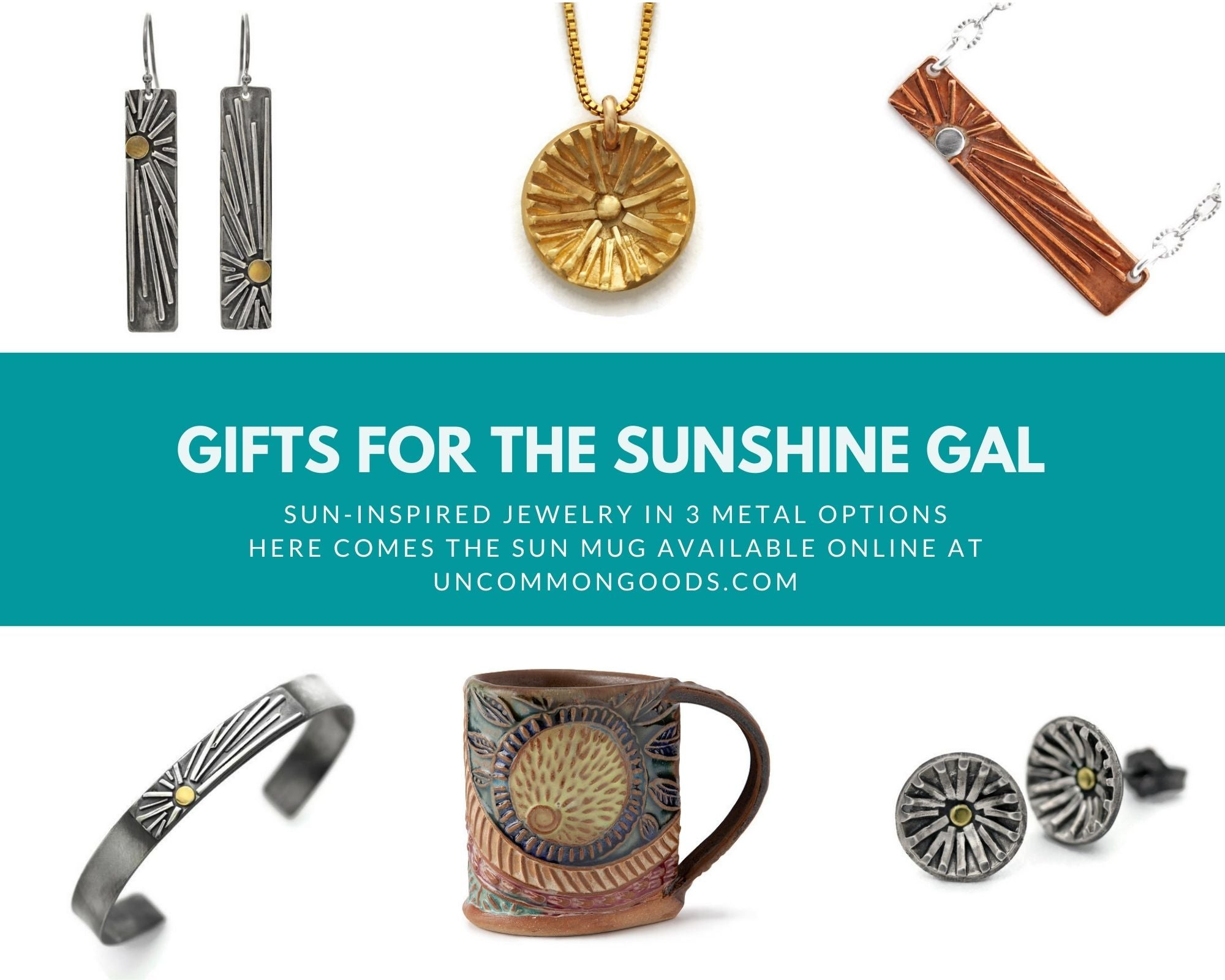 Gifts for the sunshine gal by Jen Lesea Designs