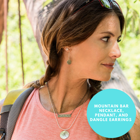 Silver mountain jewelry