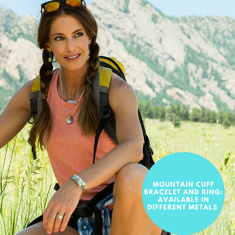 Mountain jewelry for hikers