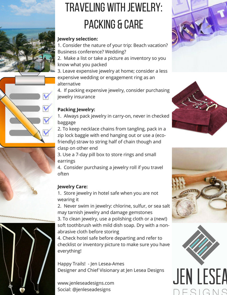 Jewelry Travel Care Guide