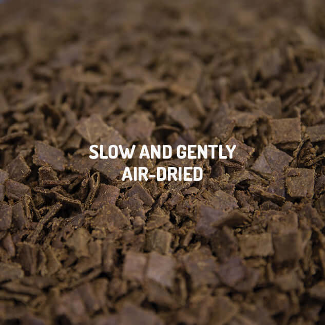 SLOW AND GENTLY AIR-DRIED