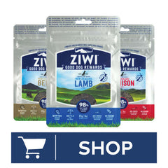 ZIWI Peak Dog Treats Shop Button