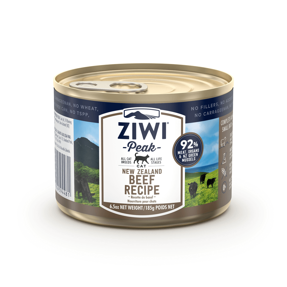 Ziwi Peak Wet Beef For Cats 185g
