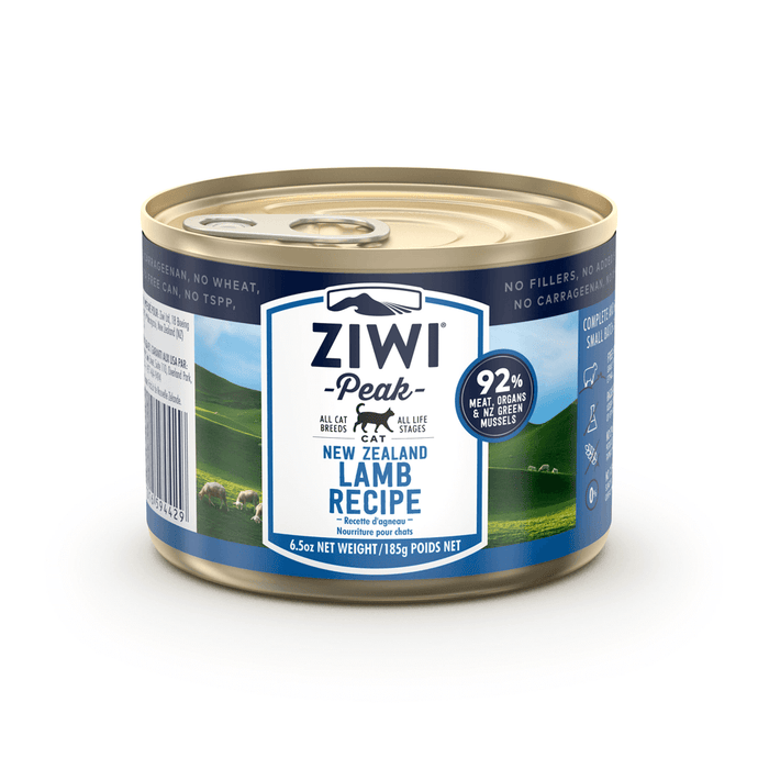 Ziwi Peak Moist Lamb Cans For Cats