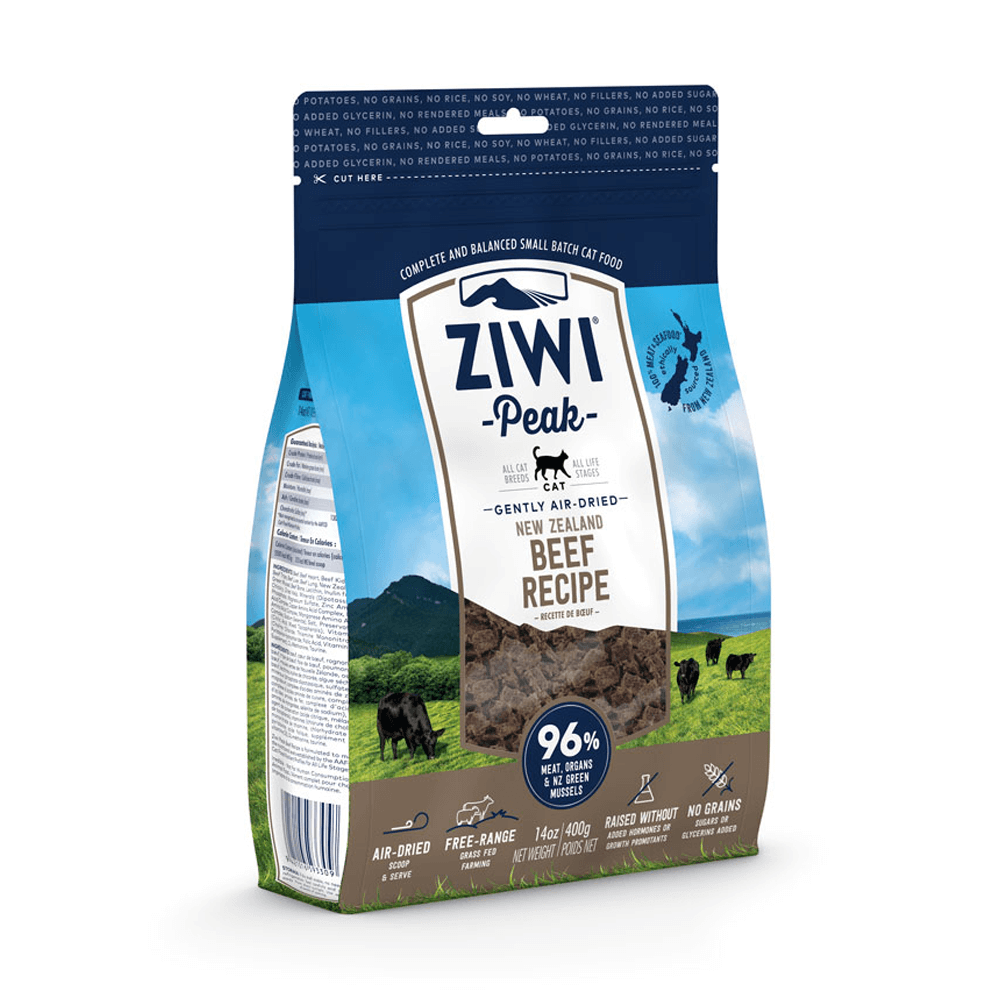 Ziwi Peak Air-Dried Beef For Cats 400g, 1kg