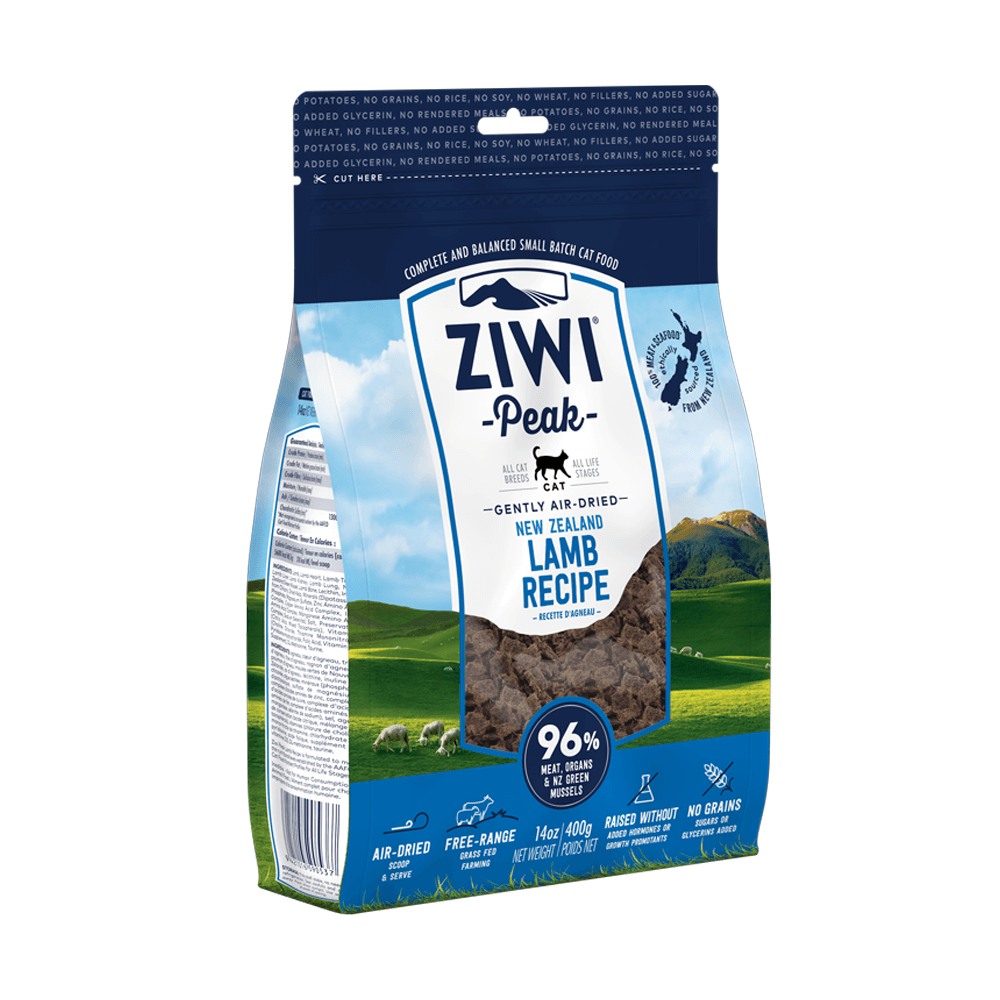 Ziwi Peak Air-Dried Lamb For Cats 400g, 1kg
