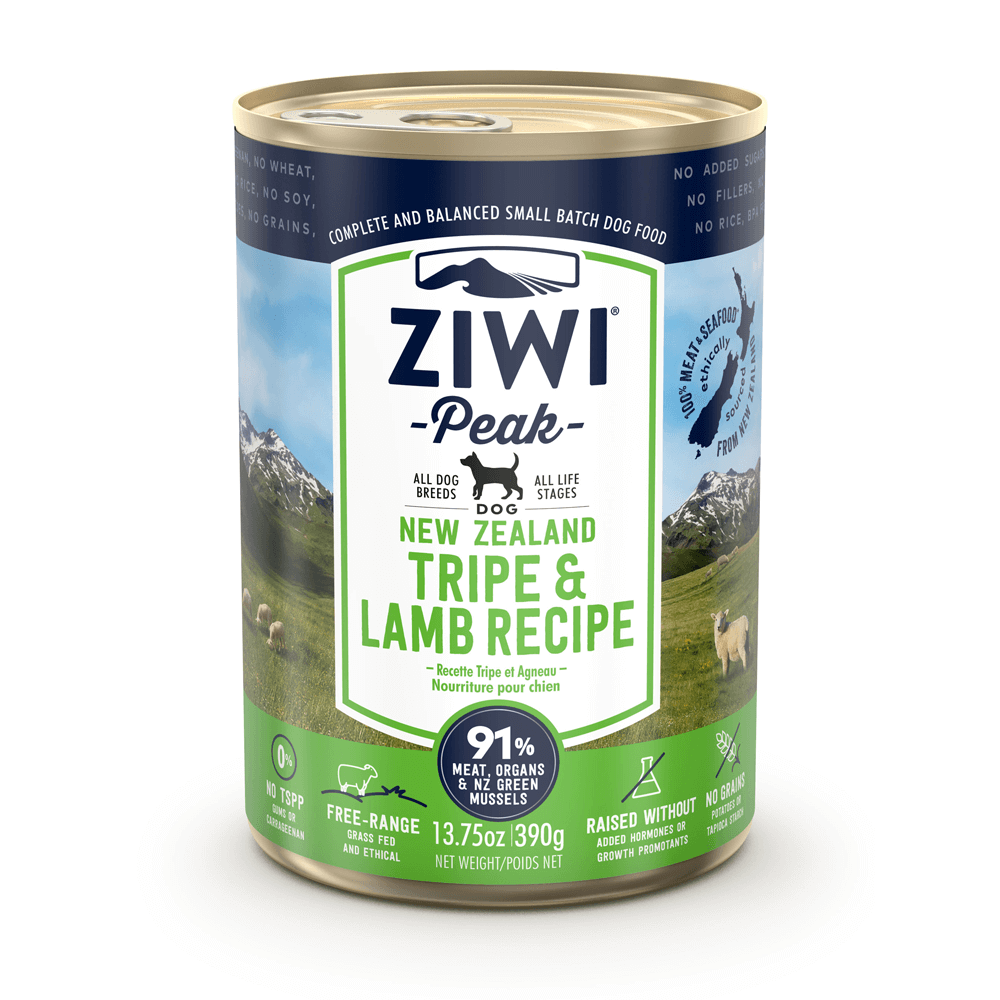 Ziwi Peak Wet Tripe & Lamb Cans For Dogs