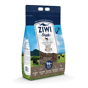 Ziwi Peak Air-Dried Beef For Dogs 454g, 1kg, 2.5kg & 4kg