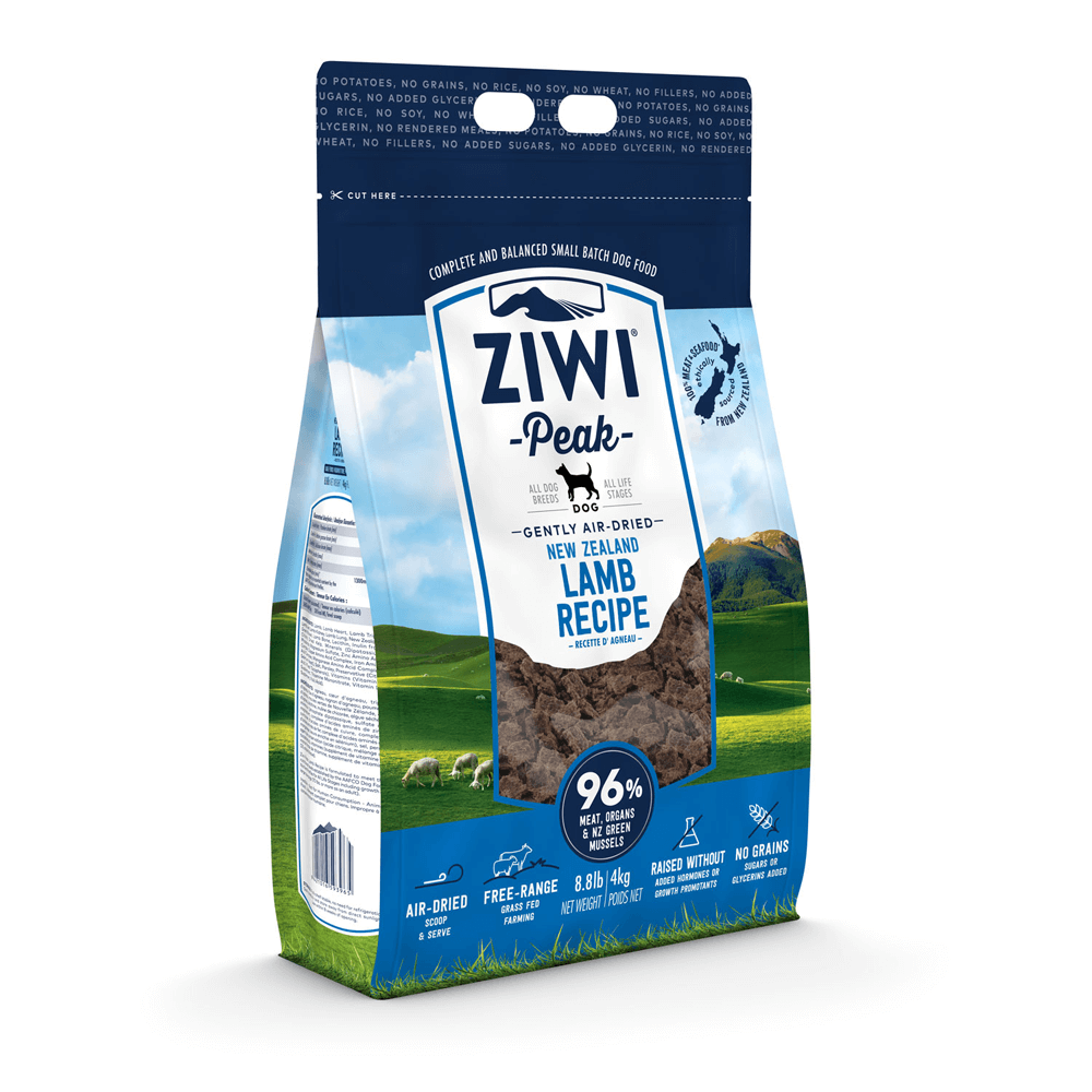 Ziwi Peak Air-Dried Lamb For Dogs 454g, 1kg, 2.5kg & 4kg