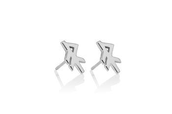 Energy / Orka Silver Studs