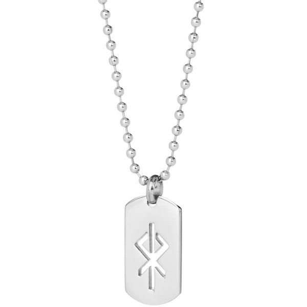 Heart / Hjarta Steel Dog-Tag