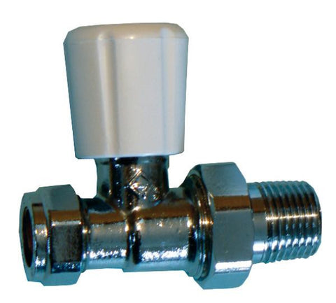 OPRV OPTIMA straight radiator valves