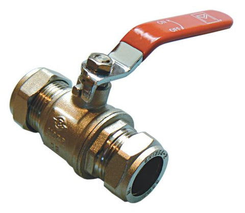 Red Lever Valves