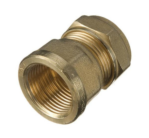 Brass Female Couplers-Paralell Thread
