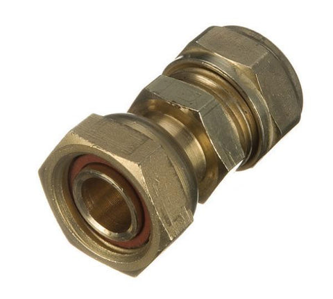 Brass Compression Straight Tap Connectors