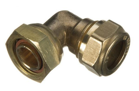 Brass Compression Bent Tap Connectors