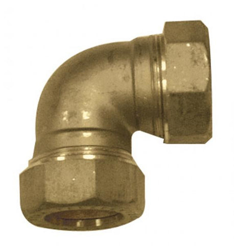 Brass DZR Imperial Equal Elbow