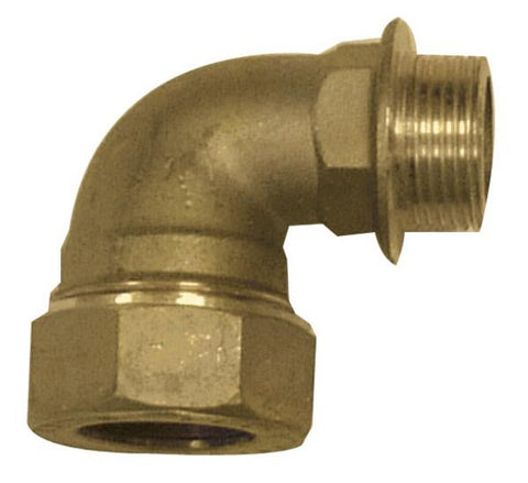 Brass DZR Male Elbow for MDPE