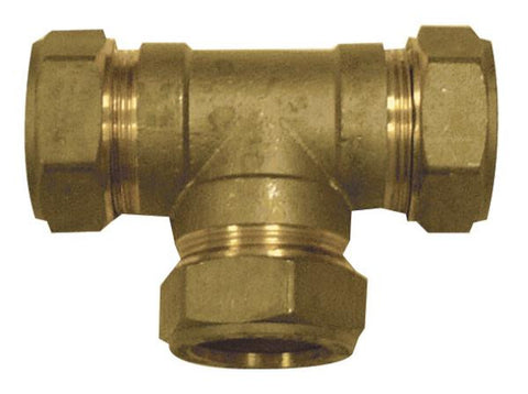 Brass DZR Equal Elbow