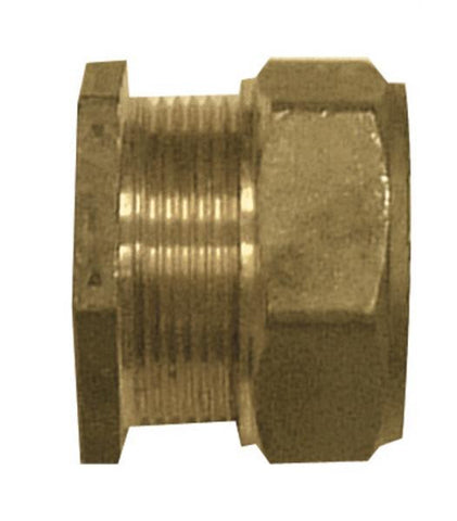 Brass DZR Stop End