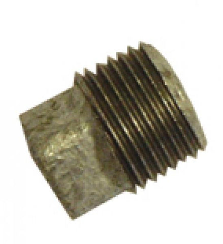 GM291 Galvanised Malleable Plain Plugs M