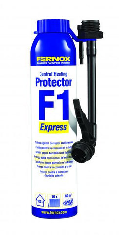FERNOX F1 EXPRESS CENTRAL HEATING INHIBITOR & PROTECTOR 265ML