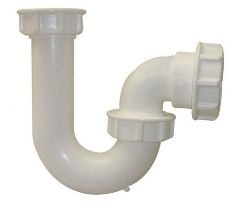 Floplast white P trap 76mm seal