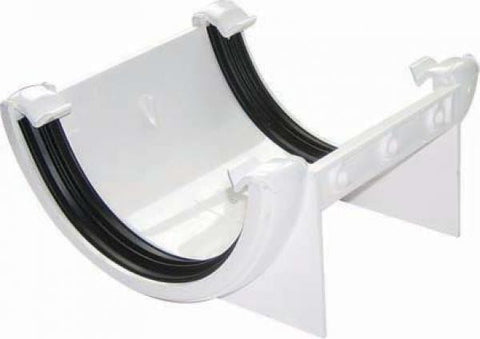 112mm Half Round Gutter - Union Brackets RU1