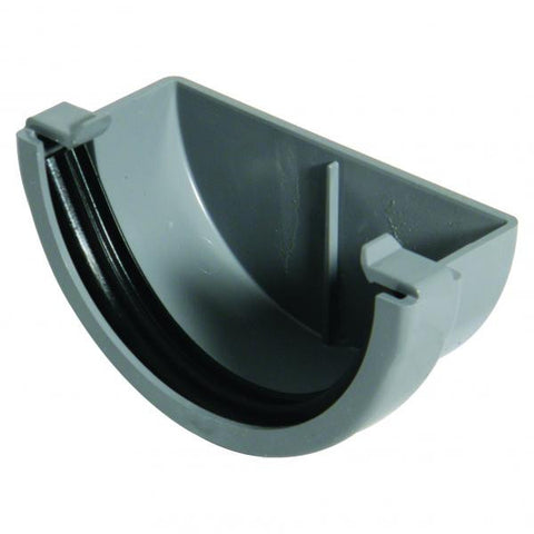 Miniflow Half Round 76mm External Stop End