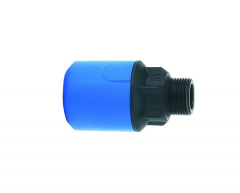 Speedfit Blue Male Adaptor for MDPE pipe