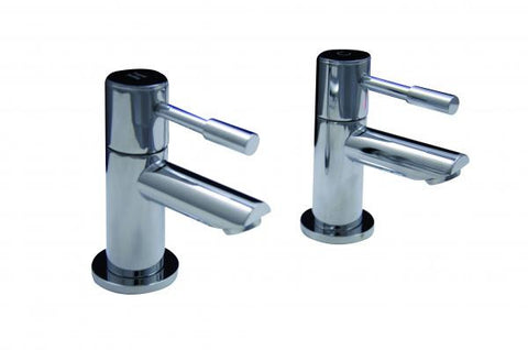 OCTAVO-L twin lever bath taps (pair)