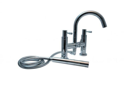 OCTAVO-L twin lever bath/shower mixer