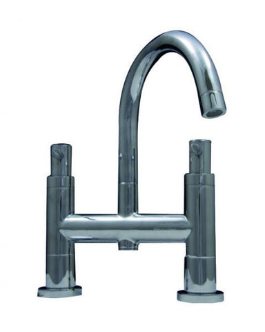 OCTAVO-L twin lever bath filler
