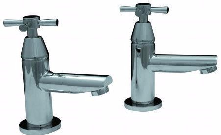 Octet X Cross-Head Basin Taps (Pair)