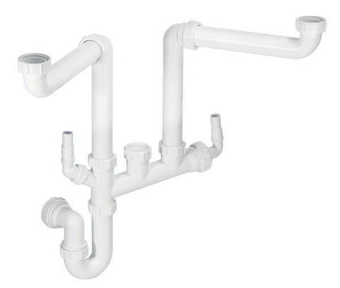 Sink Plumbing Kit - Spacesaver Double Bowl