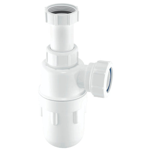 Bottle Traps 75MM Water Seal Adjustable Inlet Anti-Siphon