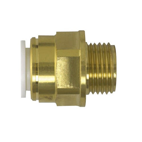 Brass Male Coupler