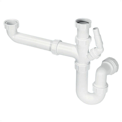 Sink Plumbing Kit - Bowl & Half Single