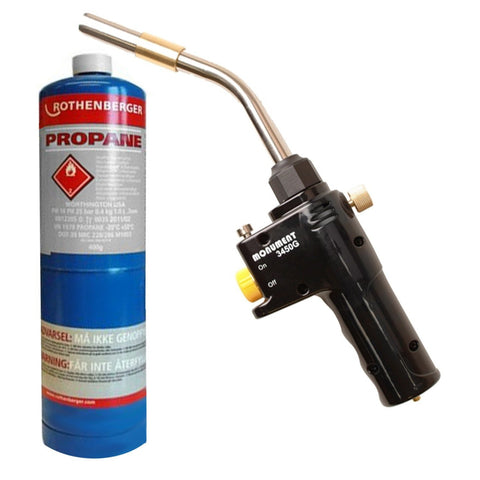 Monument 3450g Gas Torch + Propane Gas