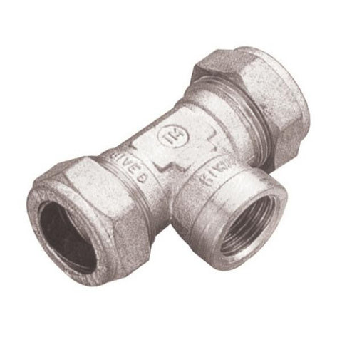 PX30R Chrome Threaded Centre Tee