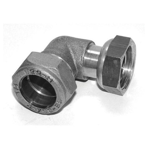 PX63 Chrome Bent Tap Connector