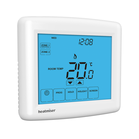 Touch Duo Two Zone Programmable Thermostat