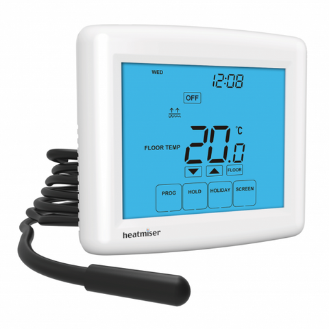 Touch-E Touchscreen Electric Floor Heating Thermostat