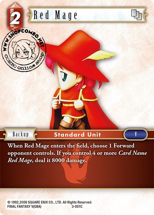 Red Mage 3-001 C