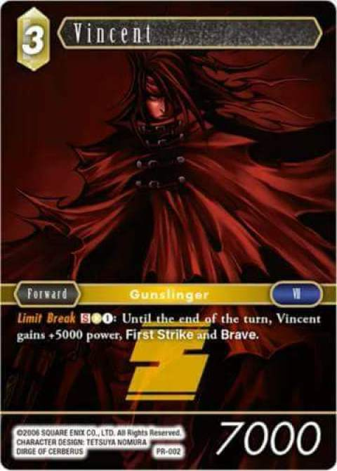 Vincent PR 002 Alternate Art Promo Full Foil