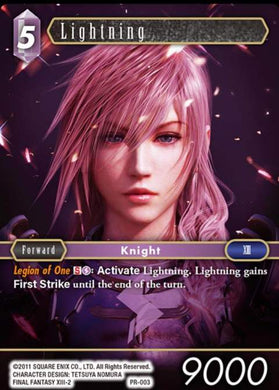Lightning PR-003 Alternate Art Promo Foil